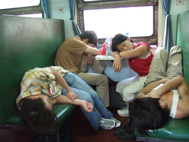 Chinese-train-hard-seat-class